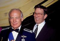 Buzz Aldrin &amp; Leonard Nimoy 1992 by<br /> Jonathan Green