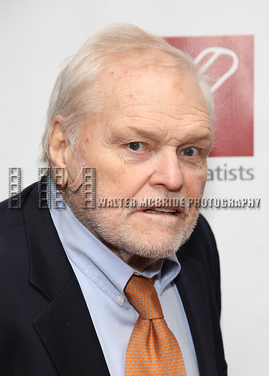 Brian Dennehy attends The New Dramatists 70th Annual Spring Luncheon honoring Nathan Lane at Marriott Marquis on May 14, 2019  in New York City.