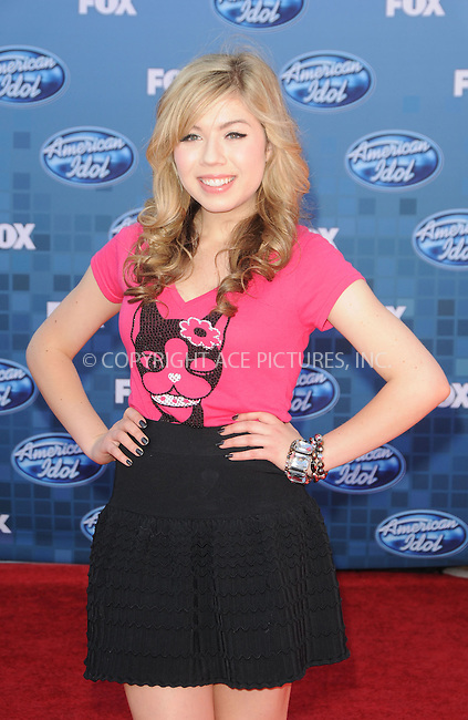 WWW.ACEPIXS.COM . . . . .  ....May 25 2011, Los Angeles....Sammi Hanratty arriving at the 'American Idol' season 10 finale results show at the Nokia Theatre LA on May 25, 2011 in Los Angeles, California. ....Please byline: PETER WEST - ACE PICTURES.... *** ***..Ace Pictures, Inc:  ..Philip Vaughan (212) 243-8787 or (646) 679 0430..e-mail: info@acepixs.com..web: http://www.acepixs.com