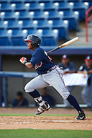 Atlanta Braves Kevin Maitan (14) during an Instructional League game against the Washington Nationals on September 30, 2016 at Space Coast Stadium in Melbourne, Florida.  (Mike Janes/Four Seam Images)