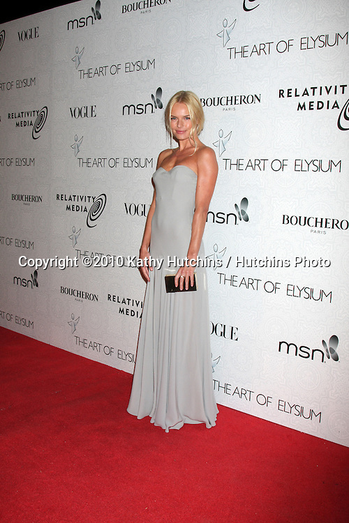 Kate Bosworth.arriving at the 3rd Annual Art of Elysium Gala.Rooftop of Parking Garage across from Beverly Hilton Hotel.Beverly Hills, CA.January 16, 2010.©2010 Kathy Hutchins / Hutchins Photo....