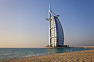Burj Al Arab luxury hotel in Dubai