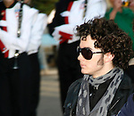 Jonas Brothers: Kevin Jonas<br /> appearing in the 2007 Macy's Thanksgiving Day Parade, New York City.<br /> November 22, 2007