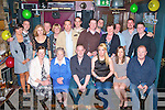 Francis Roche Jnr(seated 3rd from the Rt)Spa Rd Tralee,held a massive bash for his 30th birthday with family and friends in the Greyhound bar,Pembroke St,Tralee last Saturday night.