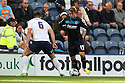 Luke Freeman of Stevenage takes on Bailey Wright of Preston - Preston North End v Stevenage - Sky Bet League One - Deepdale, Preston - 14th September 2013. <br /> © Kevin Coleman 2013