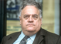 Cyril Smith, MP, Rochdale constituency, Liberal Party, UK, September, 1982, 198210000268B<br />Copyright Image from Victor Patterson, 54 Dorchester Park, <br />Belfast, UK, BT9 6RJ<br /><br />t1: +44 28 9066 1296 (from Rep of Ireland 048 9066 1296)<br />t2: +44 28 9002 2446 (from Rep of Ireland 048 9002 2446)<br />m: +44 7802 353836<br /><br />victorpatterson@me.com<br />www.victorpatterson.com<br /><br />Please see my Terms and Conditions of Use at VICTORPATTERSON.COM. It is IMPORTANT that you familiarise yourself with them.<br /><br />Images used on the Internet must be visibly watermarked i.e. &copy;VICTORPATTERSON.COM within the body of the image and copyright metadata must not be deleted. Images used on the Internet have a size restriction of 4kbs and are chargeable at the then current NUJ rates.<br /><br />This image is only available for the use of the download recipient i.e. television station, newspaper, magazine, book publisher, etc, and must not be passed on to any third party. It is also downloaded on condition that each and every usage is notified within 7 days to victorpatterson@me.com<br /><br />The right of Victor Patterson to be identified as the author is asserted in accordance with The Copyright Designs And Patents Act (1988).