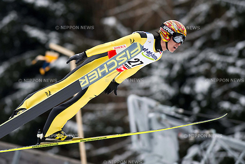 Noriaki Kasai (JPN),.FEBRUARY 23, 2013 - Ski Jumping :.FIS Nordic World Ski Championship 2013, Ski Jumping Men, at Ski Jumping Stadium Predazzo in Val di Fiemme, Italy, (Photo by Enrico Calderoni/AFLO SPORT) [0391]