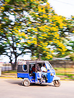 Photo of a tuktuk on the streets of Negombo, West Coast, Sri Lanka, Asia. This is a photo of a tuktuk on the streets of Negombo, West Coast, Sri Lanka, Asia.