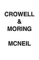 Crowell & Moring McNeil