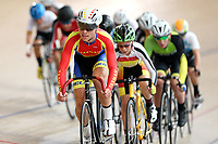 Kaio Lart of Tasman competes in the U15 Boys Point Race  at the Age Group Track National Championships, Avantidrome, Home of Cycling, Cambridge, New Zealand, Thurssday, March 16, 2017. Mandatory Credit: © Dianne Manson/CyclingNZ  **NO ARCHIVING**