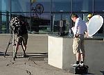 101 Tour de France 2014 - <br /> Media satff at the cycling road race 'Tour de France', on July 17, 2014.
