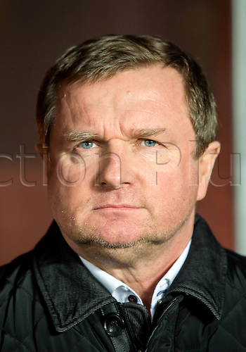 24.03.2016. Prague, Czech Republic.  Czech Republic's coach Pavel Vrba during the international friendly match between the Czech Republic and Scotland at Letna Stadium in Prague, Czech Republic, 24 March 2016.