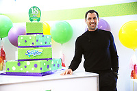 www.acepixs.com<br /> March 16, 2017  New York City<br /> <br /> Swiffer teamed up with Maksim Chmerkovskiy and Kelly Williams Brown to celebrate Swiffer's 18th Birthday, special appearance by Hannah Simone on March 16, 2017 in New York City.<br /> <br /> Credit: Kristin Callahan/ACE Pictures<br /> <br /> <br /> Tel: 646 769 0430<br /> Email: info@acepixs.com