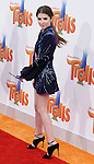 Anna Kendrick arriving at the Los Angeles premiere of Trolls held at the Regency Village Theater Westwood, CA. October 23, 2016.