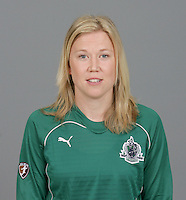 Sara Larsson, St Louis Athletica Head Shots, 2009.