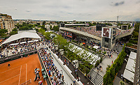 Paris, France, 28 May, 2018, Tennis, French Open, Roland Garros, overview from the Village<br /> Photo: Henk Koster/tennisimages.com