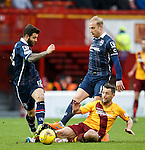 Andy Davies and Richard Foster combine to stop Scott McDonald