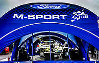 13th February 2020, Torsby base and Karlstad, Värmland County, Sweden; WRC Rally of Sweden, Shakedown event;  FORD - M Sport