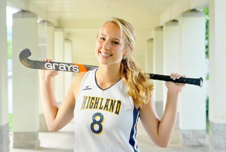 Highland School Athlete of the Year Hannah Smith - photographed in Warrenton, VA