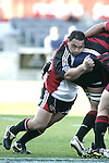 John Fonokalafi is all determination at maul time during the Ranfurly Shield challenge against Canterbury at Jade Stadium on the 10th of September 2006. Canterbury won 32 - 16.