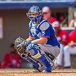3 March 2016: New York Mets catcher Kevin Plawecki in action during a Spring Training pre-season game against the Washington Nationals at Space Coast Stadium in Viera, Florida. The Mets fell to the Nationals 9-4 in Grapefruit League play. Mandatory Credit: Ed Wolfstein Photo *** RAW (NEF) Image File Available ***