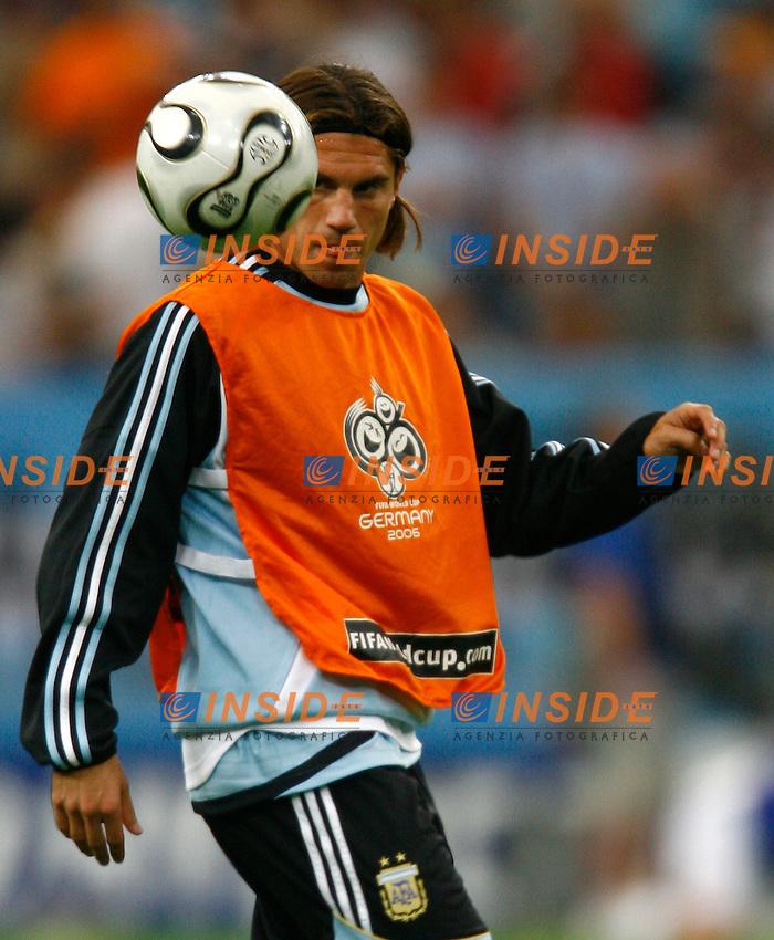 Gelsenkirchen 16/6/2006 World Cup 2006.Argentina Serbia & Montenegro 6-0.Photo Andrea Staccioli Insidefoto.Leandro Cufre Argentina