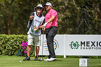 Shane Lowry (IRL) looks over his tee shot on 8 during round 2 of the World Golf Championships, Mexico, Club De Golf Chapultepec, Mexico City, Mexico. 2/22/2019.<br /> Picture: Golffile | Ken Murray<br /> <br /> <br /> All photo usage must carry mandatory copyright credit (&copy; Golffile | Ken Murray)