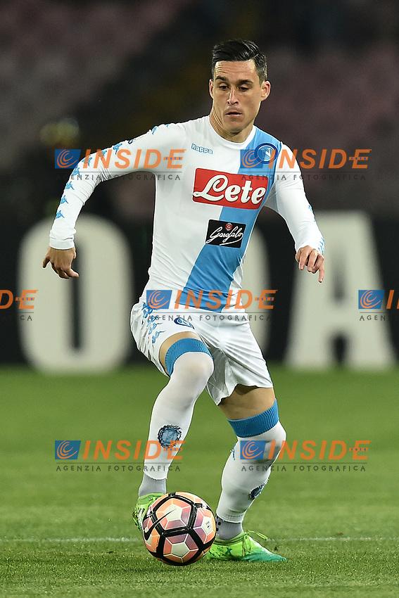 Jose Callejon Napoli <br /> Napoli 05-04-2017 Stadio San Paolo Football <br /> Calcio Coppa Italia 2016/2017 Semifinale Napoli - Juventus Foto Andrea Staccioli / Insidefoto