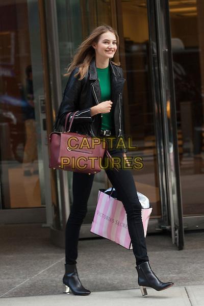 NEW YORK, NY - NOVEMBER 6: Sanne Vloet seen  in New York City on November 5, 2015. <br /> CAP/MPI/DC<br /> &copy;DC/MPI/Capital Pictures