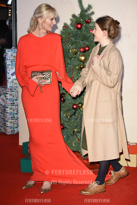LONDON, UK. November 21, 2018: Joely Richardson &amp; Gemma Whelan at the &quot;Surviving Christmas with the Relatives&quot; premiere at the Vue Leicester Square, London.<br /> Picture: Steve Vas/Featureflash