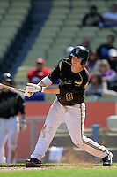 February 28 2010: Riley Reynolds of Vanderbilt  during game against Oklahoma State at Dodger Stadium in Los Angeles,CA.  Photo by Larry Goren/Four Seam Images