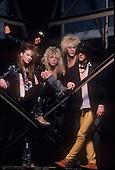 GUNS N ROSES, STUDIO, 1987, NEIL ZLOZOWER