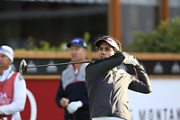 Carlos Pigem (ESP) tees off the 1st tee during Thursday's Round 1 of the 2017 Omega European Masters held at Golf Club Crans-Sur-Sierre, Crans Montana, Switzerland. 7th September 2017.<br /> Picture: Eoin Clarke | Golffile<br /> <br /> <br /> All photos usage must carry mandatory copyright credit (&copy; Golffile | Eoin Clarke)