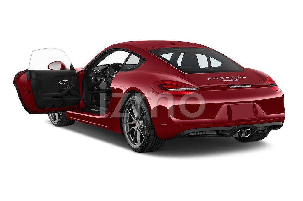 Car images of a 2015 Porsche Cayman S 2 Door Coupe Doors