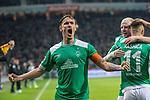 08.03.2019, Weser Stadion, Bremen, GER, 1.FBL, Werder Bremen vs FC Schalke 04, <br /> <br /> DFL REGULATIONS PROHIBIT ANY USE OF PHOTOGRAPHS AS IMAGE SEQUENCES AND/OR QUASI-VIDEO.<br /> <br />  im Bild<br /> <br /> jubel  3:1 mit Max Kruse (Werder Bremen #10) <br /> <br /> Foto &copy; nordphoto / Kokenge