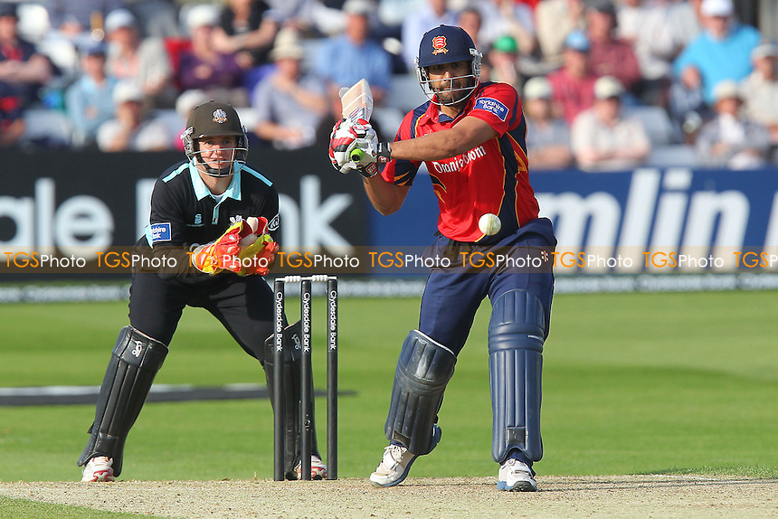 Ravi Bopara of Essex in batting action - Essex Eagles vs Surrey Lions - Yorkshire Bank YB40 Cricket at the Essex County Ground, Chelmsford - 03/06/13 - MANDATORY CREDIT: Gavin Ellis/TGSPHOTO - Self billing applies where appropriate - 0845 094 6026 - contact@tgsphoto.co.uk - NO UNPAID USE