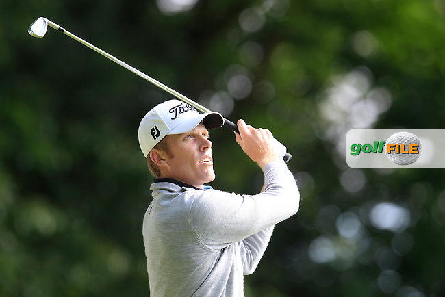 Andrew DODT (AUS) during round 1 of the 2015 BMW PGA Championship over the West Course at Wentworth, Virgina Water, London. 21/05/2015<br /> Picture Fran Caffrey, www.golffile.ie: