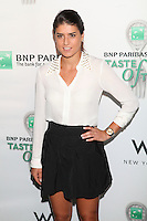Tennis player Sorana Cirstea attends the 13th Annual 'BNP Paribas Taste of Tennis' at the W New York.  New York City, August 23, 2012. © Diego Corredor/MediaPunch Inc. /NortePhoto.com<br />