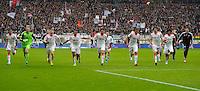 FRANKFURT, ALEMANHA, 06 ABRIL 2013 - CAMPEONATO ALEMÃO - EINTRACHT FRANKFURT X BAYERN MUNIQUE - Jogadores do Bayern de Munique comemora a conquista do Campeonato Alemão com sete rodadas de antecendencia em partida contra o Eintracht Frankfur na cidade de Frankfurt na Alemanha, neste sábado, 06.  FOTO: BERND FEIL /  PIXATHLON / BRAZIL PHOTO PRESS..