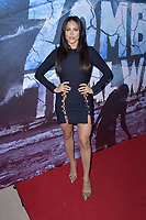 Cassandra Scerbo at the premiere of SyFy TV-Film Zombie Tidal Wave at the Garland Hotel in Los Angeles, California August 12, 2019. Credit: Action Press/MediaPunch ***FOR USA ONLY***