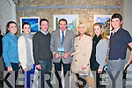 "Father & Son DVD Launch. Pictured at the launch of the Leo Finnucane film ""Father & Son"" on the life & times of Mick Finnucane and his father Paddy of Lisselton at St. John's Arts Centre in Listowel on Friday night last were Jenni & Kate Molyneaux, Tom Dillon, Leo Finnucane, Jacqueline Finnucane, Kelly Griffin & Kevin Molyneaux."