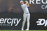 Haotong Li (CHN) tees off the 18th tee during Saturday's Round 3 of the 2018 Turkish Airlines Open hosted by Regnum Carya Golf &amp; Spa Resort, Antalya, Turkey. 3rd November 2018.<br /> Picture: Eoin Clarke | Golffile<br /> <br /> <br /> All photos usage must carry mandatory copyright credit (&copy; Golffile | Eoin Clarke)