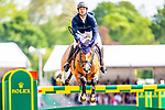 Day 5. Royal Windsor Horse Show. Windsor. Berkshire. UK.  Showjumping. Rolex Grand Prix. Steve Gaudet riding Bianca. SUI.  1st place. winner. 13/05/2018. ~ MANDATORY Credit Elli Birch/Sportinpictures - NO UNAUTHORISED USE - 07837 394578