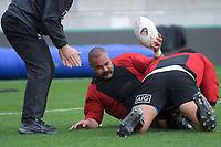 NZ's Karl Tu'inukuafe. All Blacks training at Westpac Stadium in Wellington, New Zealand on Thursday, 14 June 2018. Photo: Dave Lintott / lintottphoto.co.nz