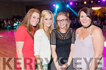 Grace Hobbert Linda Hennessy, Paula O'Regan and Doreen O'Connell, who attended the Kerins O'Rahillys Strictly Come Dancing, held at the Brandon Hotel, Tralee on Saturday night last.