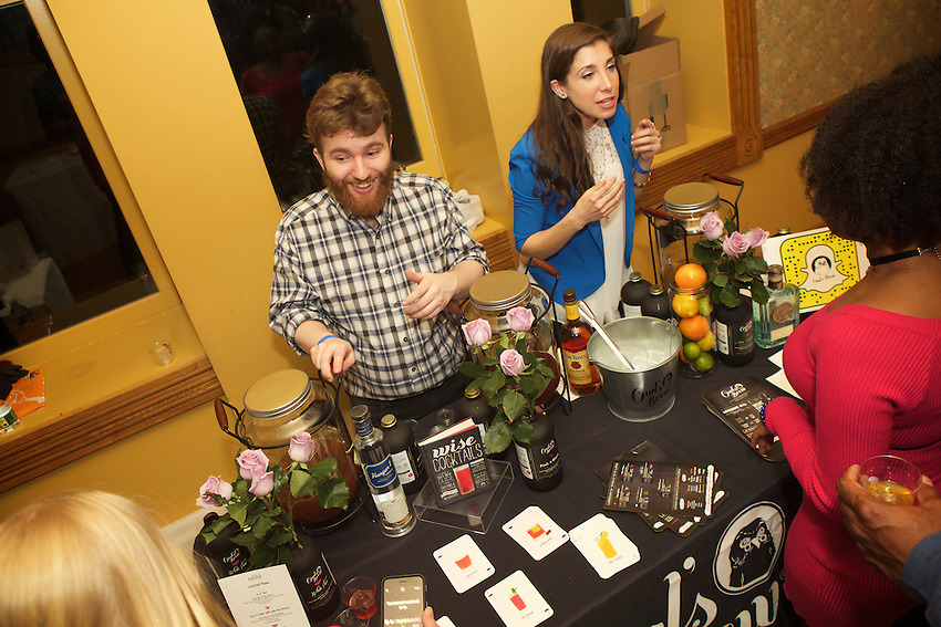 NEW YORK, NY - March, 2 2017: The scene at the annual Good Spirits cocktail and food tasting hosted by Edible Manhattan at Pier A Harbor House in Battery Park.<br /> <br /> Credit: Clay Williams for Edible Manhattan.<br /> <br /> &copy; Clay Williams / http://claywilliamsphoto.com