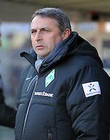 FUSSBALL   1. BUNDESLIGA   SAISON 2011/2012    20. SPIELTAG  05.02.2012 SC Freiburg - SV Werder Bremen Manager Klaus Allofs (SV Werder Bremen)