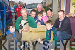 ..BUYING; GFriends share in buying one of the sheep at the Ballinclar Horse and Sgeraldheep Fair in Annascaul on DSunday, L-r: T.J O' Donnell, Paul Fitzgerald, Thomas and Joe O'Donnell (Camp), Finn Deane (Keel), Michael Coyne (Camp), Paddy and Orla Curran (Annascaul and TJ Brosnan (Lispole)...