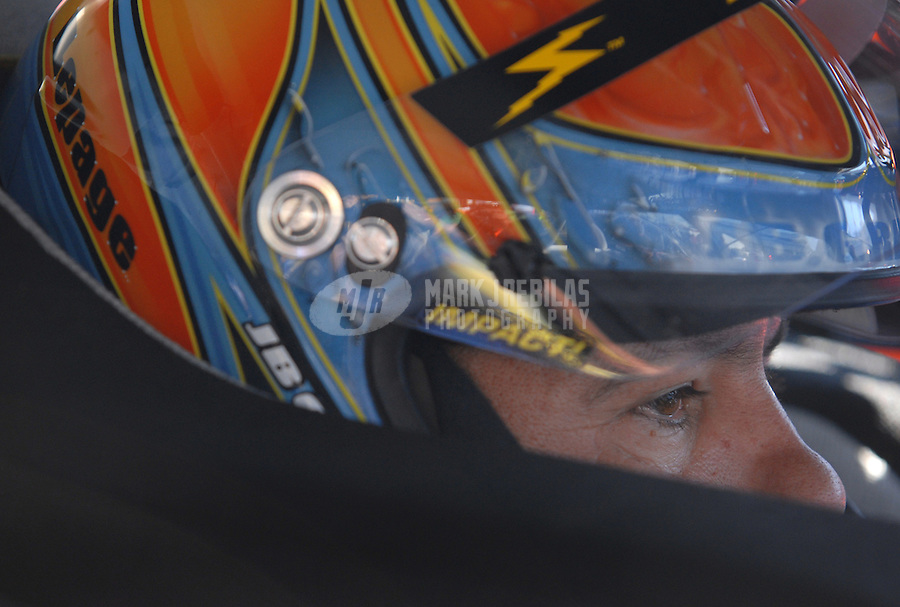 Mar 30, 2007; Martinsville, VA, USA; Nascar Nextel Cup Series driver Kevin Lepage (37) during practice for the Goody's Cool Orange 500 at Martinsville Speedway. Martinsville marks the second race for the new car of tomorrow. Mandatory Credit: Mark J. Rebilas