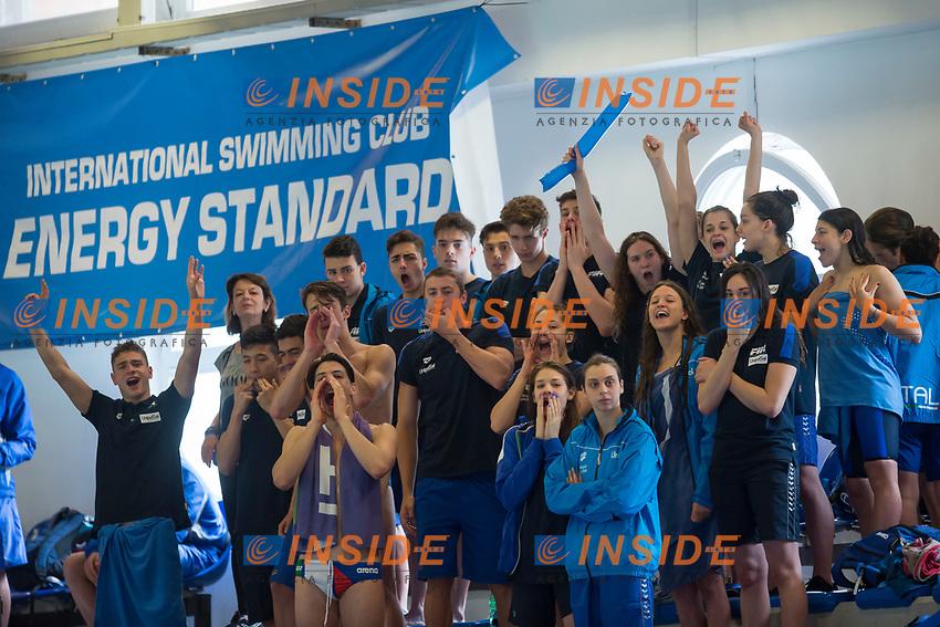 Team Italy <br /> Lignano Sabbiadoro 06-05-2017 Ge.Tur Complex <br /> Energy Standard Cup 2017 Nuoto<br /> Photo Andrea Staccioli/Deepbluemedia/Insidefoto